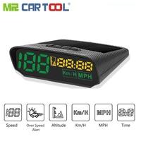 Autool X100 Car Head Up Display Digital Auto Hud OBD2 II GPS Speedometer Odb Gauge MPH KM Alarm Consumption Data Diagnostic