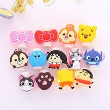 Cartoon Cable Protector  USB Charging Data Line Cord Protector Case Cable Winder Cover For iPhone4 4s 5 5s 6 6plus 6s 7 8