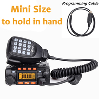 QYT KT8900 UHF VHF DUAL BAND Two Way Radio Transceiver With USB Programming Cable KT 8900