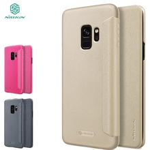Nillkin Sparkle Flip Case For Samsung Galaxy S9 Plus case protective mobile phone house protector for Samsung Galaxy S9 cover