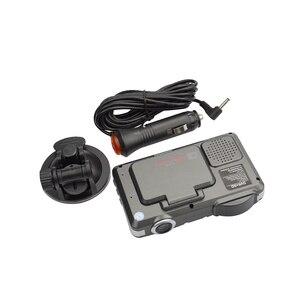 Image 4 - OkeyTech הטוב ביותר נגד 720 P המצלמה DVR רכב גלאי רדאר חדש 2 In 1 מקליט גלאי תנועת גילוי מכונית זרימת תמיכה G חיישן