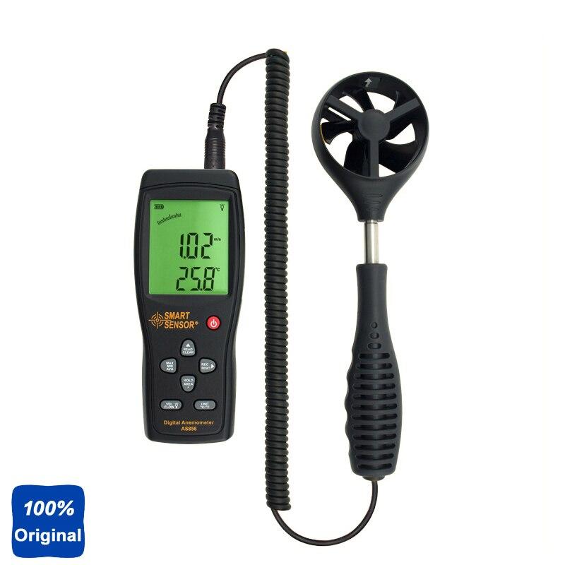 100% Original AS856 Digital Handheld Anemometer Wind Speed Meter100% Original AS856 Digital Handheld Anemometer Wind Speed Meter