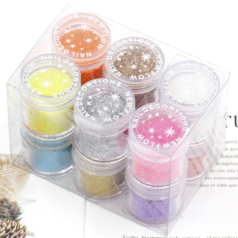 12 Color Epoxy Resin Filler Shiny Sequin Glittering DIY Filling Materials Silicone Mold Crafts Jewelry Filling