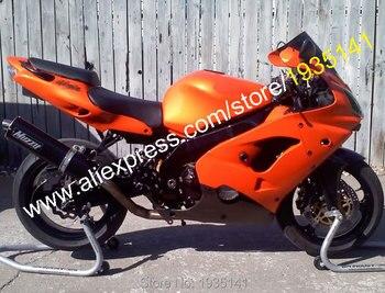 Custom Fairing Set For Kawasaki Ninja ZX9R 2000 2001 ZX 9R 00 01 ZX-9R Orange Black Bodyworks Motorcycle Fairing Kit