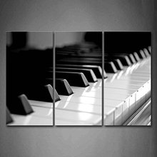 3 Pieces Picture Painting Wall Art Room Decor Print Poster piano series Wall Pictures for Living Room Canvas Painting Framed