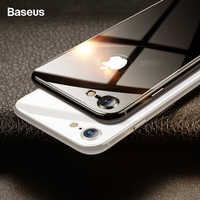 Baseus 0.3mm 4D Back Screen Protector For iPhone 8 8 Plus Back Film 9H Rear Tempered Glass Anti-Scratch Protective Glass Film