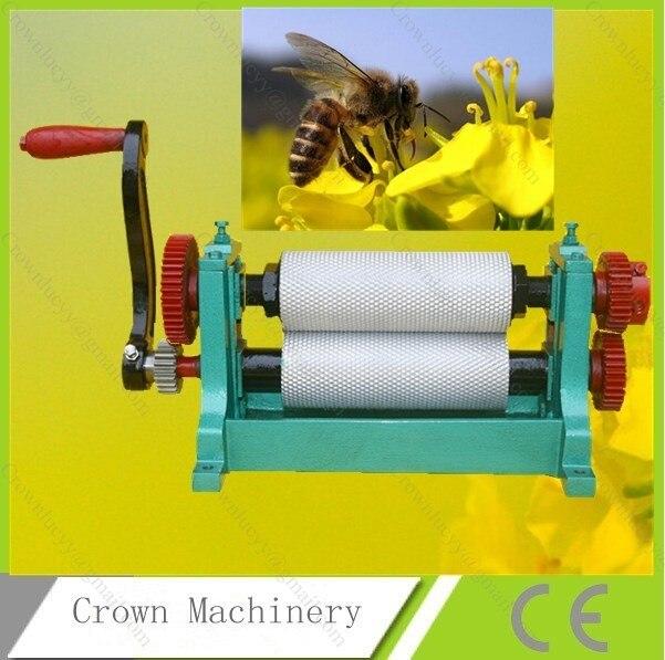 86 250mm Hand Crank Bee Wax Foundation Sheet Stamper Machine