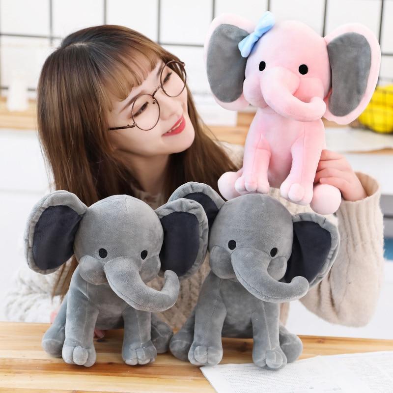 25cm Bedtime Originals Plush Toys Elephant Humphrey Choo Choo Express Soft Stuffed Plush Animal Doll For Kids Girl Birthday Gift