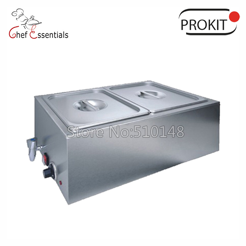 -Free shipping FREE SHIPPING! PK-LH-K165A-2 GN 1/2 stainless steel Bain Marie