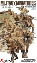 RealTS TAMIYA MODEL 1 35 SCALE military models 35207 Russian Army Assault Infantry plastic model kit