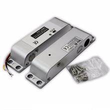 800kg 1800lbs  Electric Bolt Lock with Door State Detection Output Point and Timer Drop Bolt Lock Fail safe Electric Lock