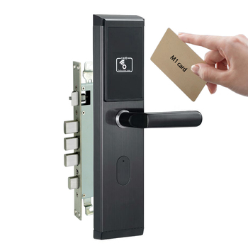 Apartment/office cerradura inteligente M1 card electronic lock with hidden card reader