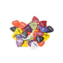 Assorted Thickness Lots of 100Pcs Guitar Plectrums Picks Alice Matte+1 Pcs Plastic Picks Box Case Acoustic Electric