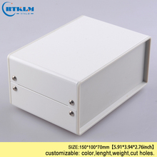 DIY iron enclosure diy instrument case electrical project housing enclosure pcb switch metal iron steel box 150*100*70mm IP54 стоимость