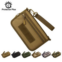 Molle EDC Hunting Wallet Pouch Bag Tactical Organizer Military Army Outdoor Men Camping Hiking Bags bolsa 6 Inch Phone XA665WA