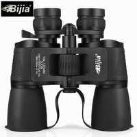 BIJIA 10-120X80 alta ampliação do zoom de longo alcance caça telescópio binóculos de alta definição grande angular profissional