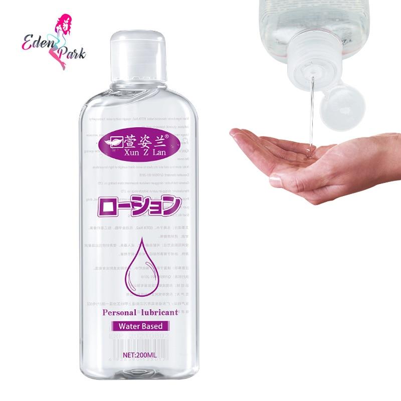 Graxa para lubrificação Da Vagina gel lubrificante sexo anal 400ml lubrificante à base de água 200ml de óleo lubrificante sexual Toque De Seda casais gays