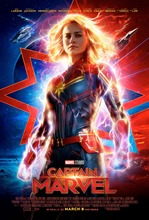 Marvel Comics Popular Movies Captain Marvel Carol Danvers Silk Poster Print 16x24 24x36 Your Living Room Room Wall Picture