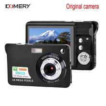 KOMERY Original Digital Camera 2.7 Inch TFT Screen CMOS 5.0MP Anti-shake 8X Digital Zoom 1800w Pixel Video Camera Selfie camera