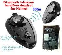 2018 New Motorcycle Helmet Bluetooth Headset Intercom Moto For 3 Riders BT Wireless Intercomunicador Interphone MP3