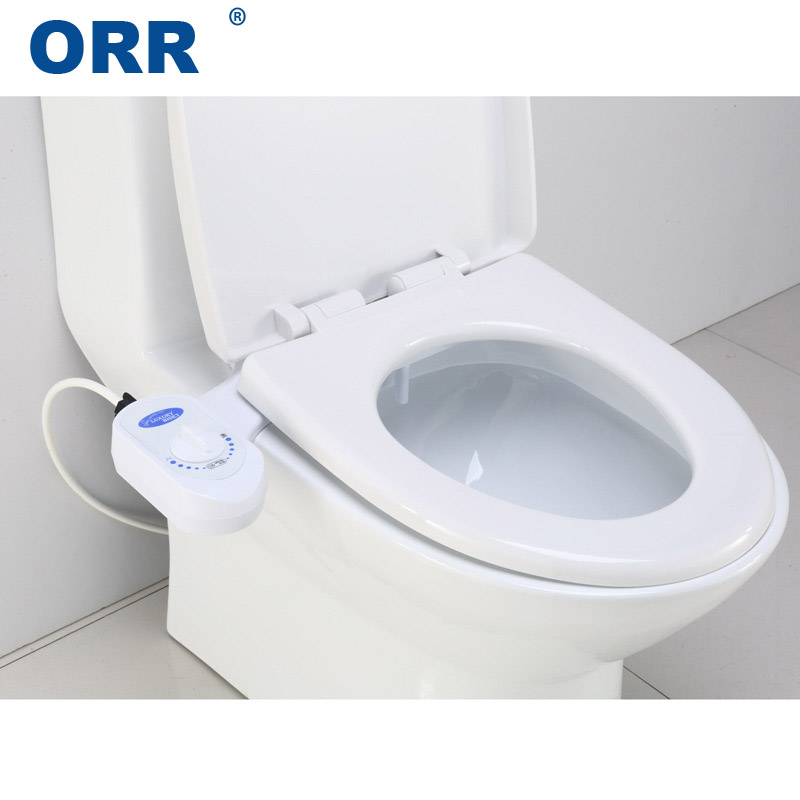 Bidet Toilet Attachment Self Cleaning Nozzle Fresh Water Spray Non-Electric Mechanical Bathroom Single Sprinkler ORR фурнитура для унитаза luxe bidet vi 110 fresh water spray non electric mechanical page 8