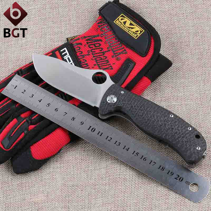 BGT C157 Tactical Folding Pocket Knife With Elmax Blade Survival Outdoor Hunting Knives Combat Camping Knife EDC Rescue Tools  цены