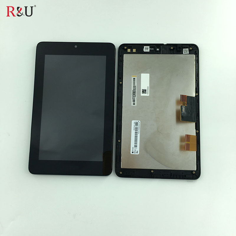 R&U high quality 7 Full LCD Display + Touch Screen panel glass Digitizer Assembly Replacement For Asus MeMO Pad ME172V ME172 летняя шина nokian hakka black suv 295 30 r22 103y