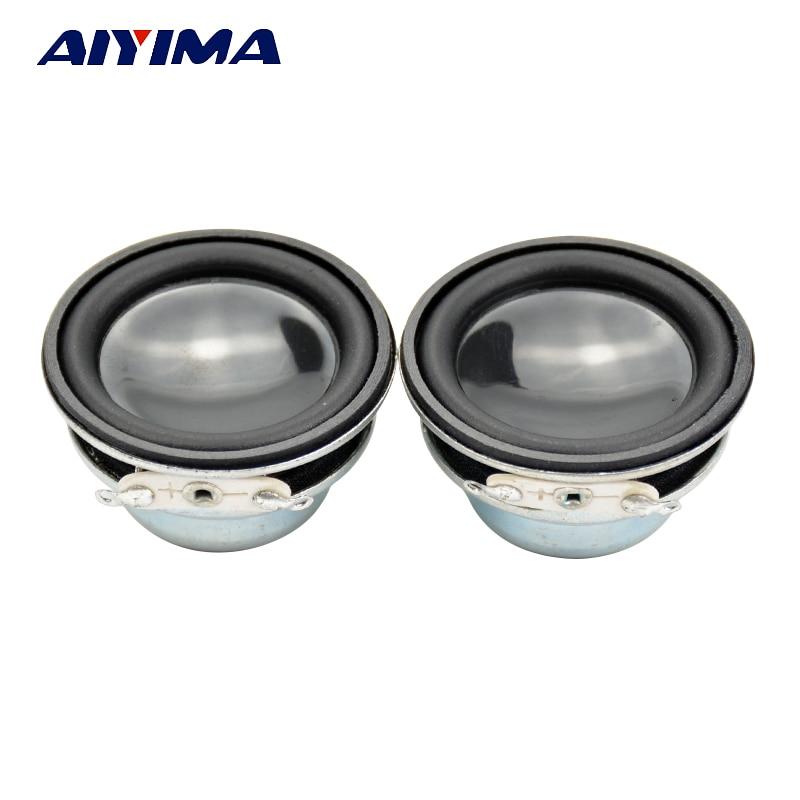 AIYIMA 2Pcs 36MM Mini Audio Portable Speakers 16Core 4Ohm 3W Full Range Speaker Internal Magnetic DIY