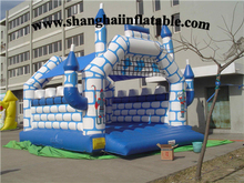 2016 PVC inflatable bounce house jumping house for kids sports and entertainment with high quality