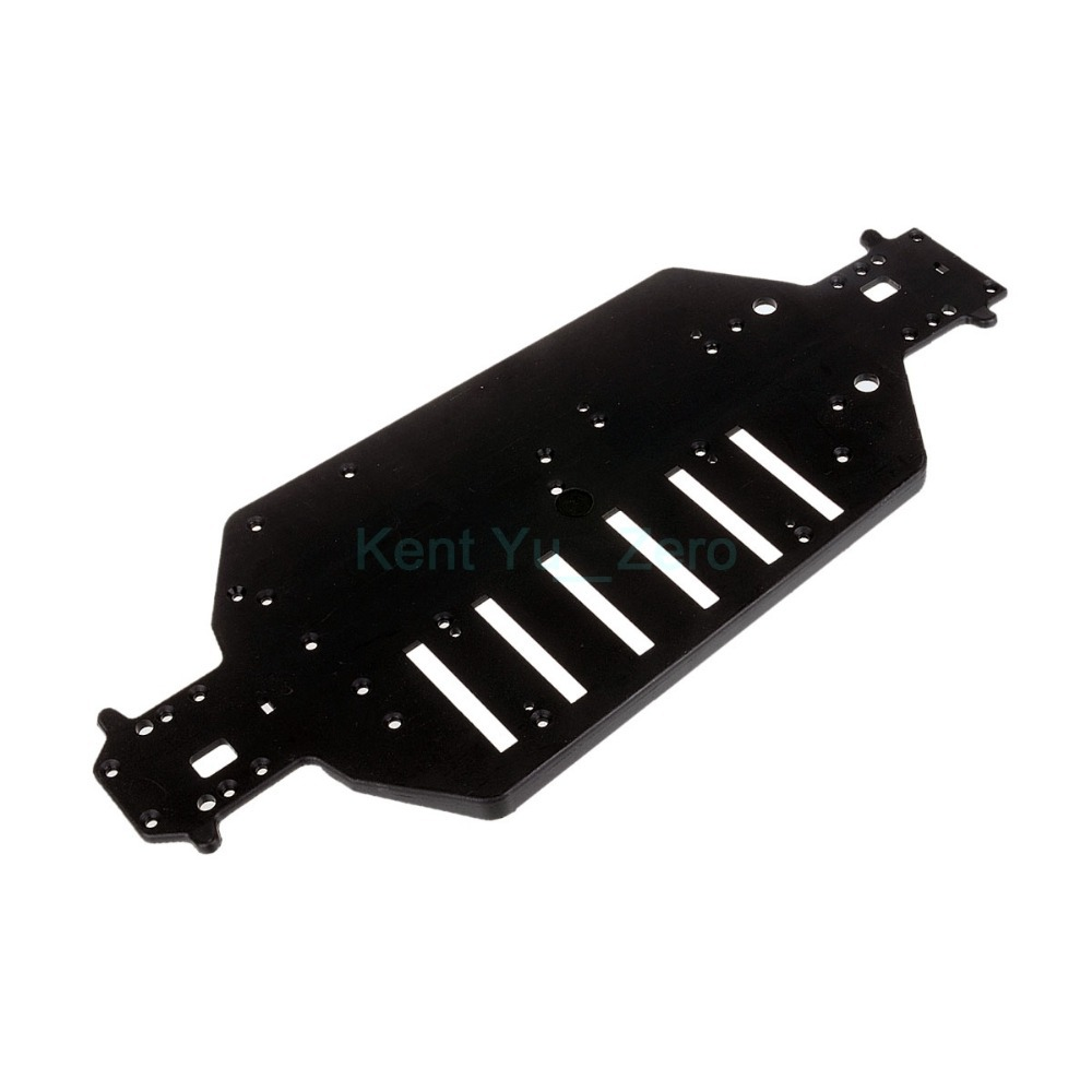 HSP 04001 Plastic Chassis For RC 1/10 Off-Road Buggy / Truck Original Parts,For a variety of models 1pcs durable off road truck black metal chassis 04001 03601 for hsp 1 10 rc model car upgrade spare parts
