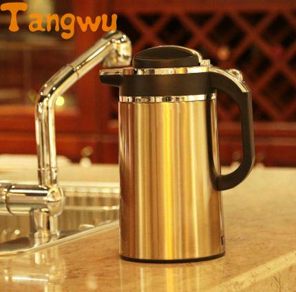 Free shipping Automatic electric food grade 304 stainless steel electric kettle . hot . Insulation . Automatic prevent Parch