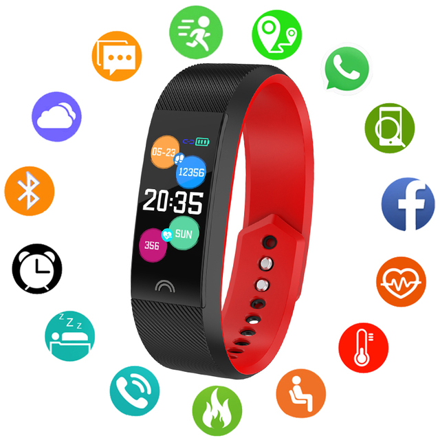 Sport Smart Watch Children Watches Kids For Girls Boys Student Electronic Wristw
