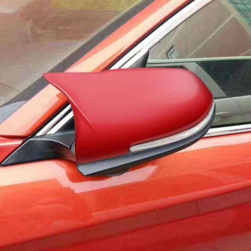 2 sztuk Car Styling pokrywa lusterka wstecznego dla BMW 3 4 serii F30 F31 F32 F33 F36 wymiana lusterko wsteczne Cap akcesoria