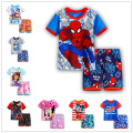 Cartoon boys Summer Clothing Sets Girl's Short sleeve T Shirt+Short Pants Girls Suits boy Sets Children Shorts New 2017