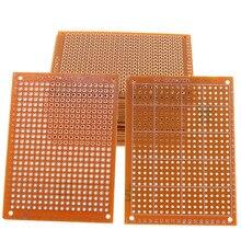 10 Pcs Prototype Paper Copper PCB Universal Experiment Matrix Circuit Board 5x7cm Top Sale Electrical Accessories Circuit Board