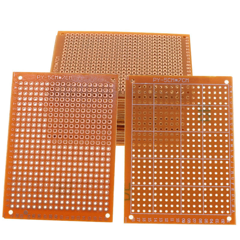 10 Pcs Prototype Paper Copper PCB Universal Experiment Matrix Circuit Board 5x7cm Top Sale Electrical Accessories Circuit Board