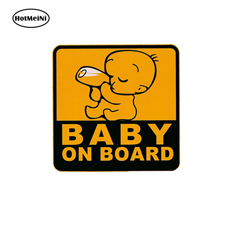 Baby On Board Vehicl