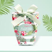 50pcs/lot Wedding candy box European pink creative wedding gift box christmas candy box birthday gif