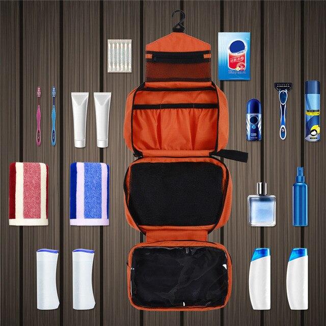 Men large waterproof makeup bag ma