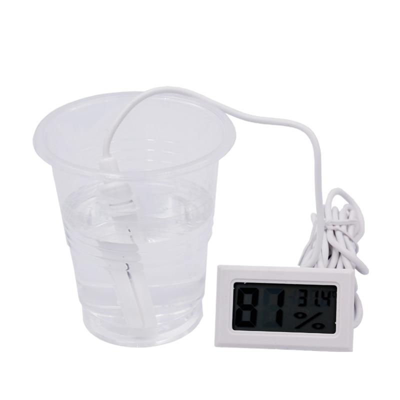 20db / tétel Digitális LCD hőmérő Higrométer Hőmérséklet - Mérőműszerek - Fénykép 5
