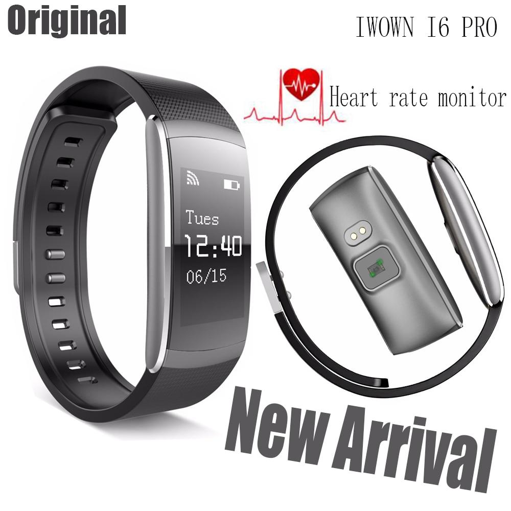 New IWOWN IWOWNFIT I6 PRO font b Smart b font Wristband Heart Rate Monitor IP67 Warerproof