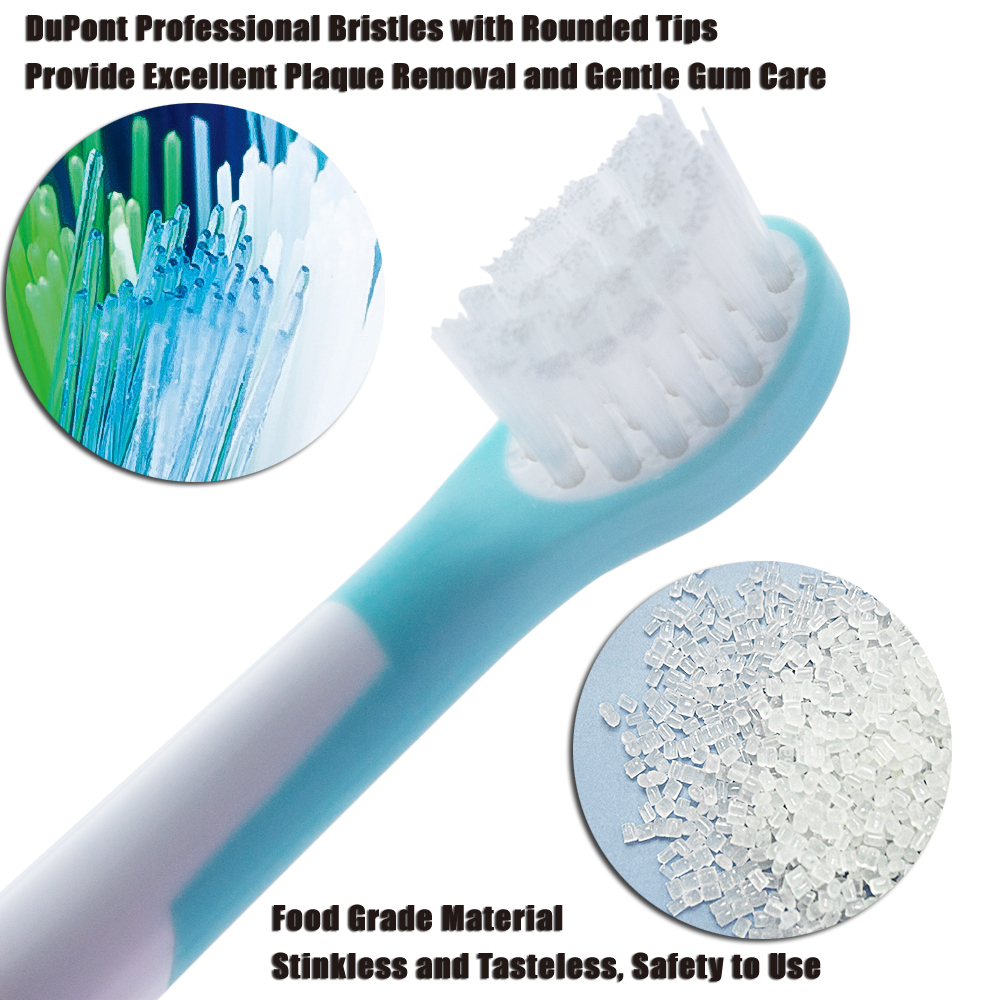 20 PCS Toothbrush Heads for Philips Sonicare Toothbrush Heads HX6311 HX6312 HX6320 HX6321 HX6322 HX6330 HX6340 in Replacement Toothbrush Heads from Home Appliances