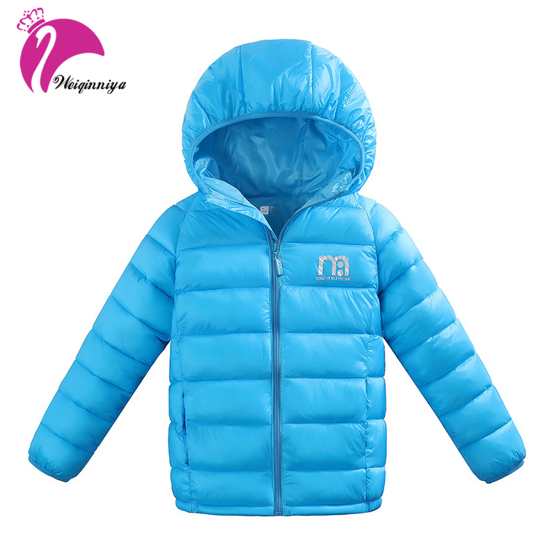 Children Boys Winter Parka Down Coat New Brand Fashion Hooded Thicken Cotton Warm Kids Clothes Casual Unisex Clothing Outwears brand fashion new 2016 winter children down