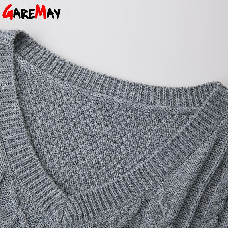 Suéter Mujer Pull Knitting Jumper Otoño Invierno Jersey Mujer - Ropa de mujer - foto 5