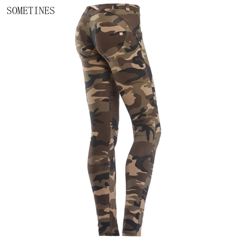 DUCTJOE   Leggings   For Women Peach Slim Hips Fitness Pants Women   Leggings   Camouflage   Leggings   Skinny Sexy Workout Casual   Leggings