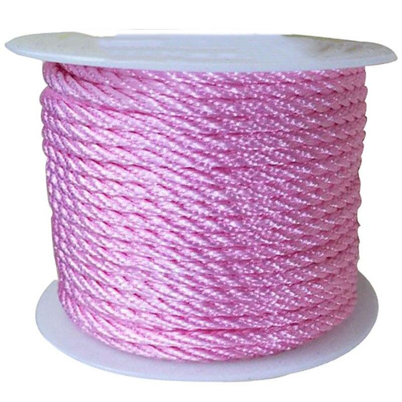 ROSE Cable Knit Couverture Avec Satin Nœud