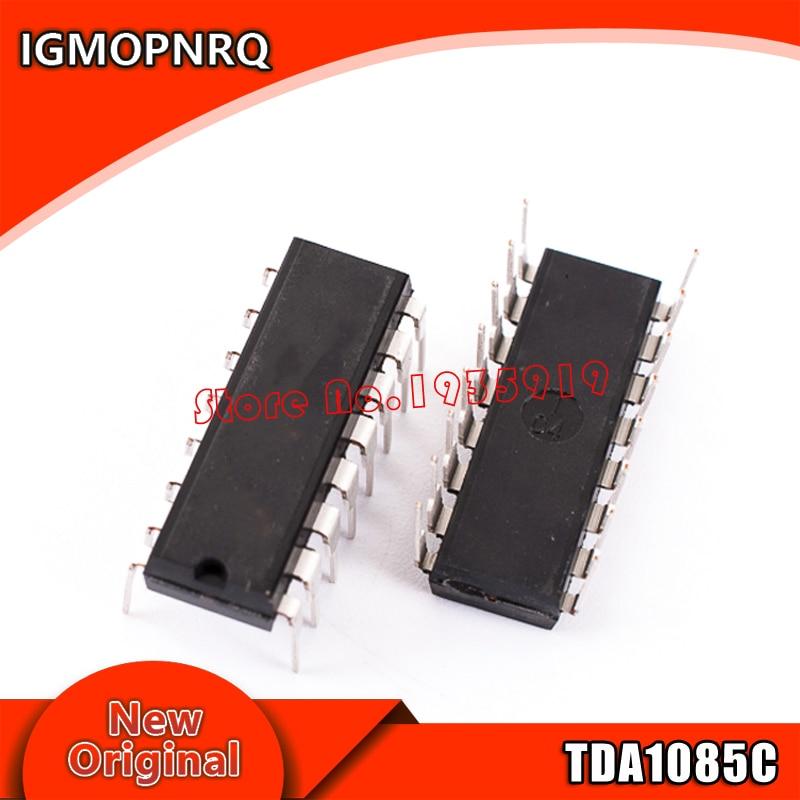 5PCS TDA1085C DIP-16  TDA1085 TDA1085CG DIP Free Shipping
