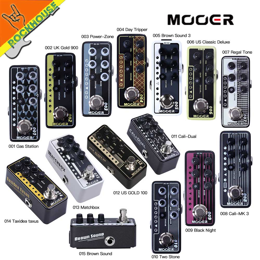 Mooer Micro Preamp Vintage Amplifier Simulator Guitar Effects Pedal Marshall MESA VOX Amplifier ToneKing AMP simulator Free Ship free shipping electric amp effects pedal simulator distortion and cabinet of a guitar accessories amplifier musical instruments