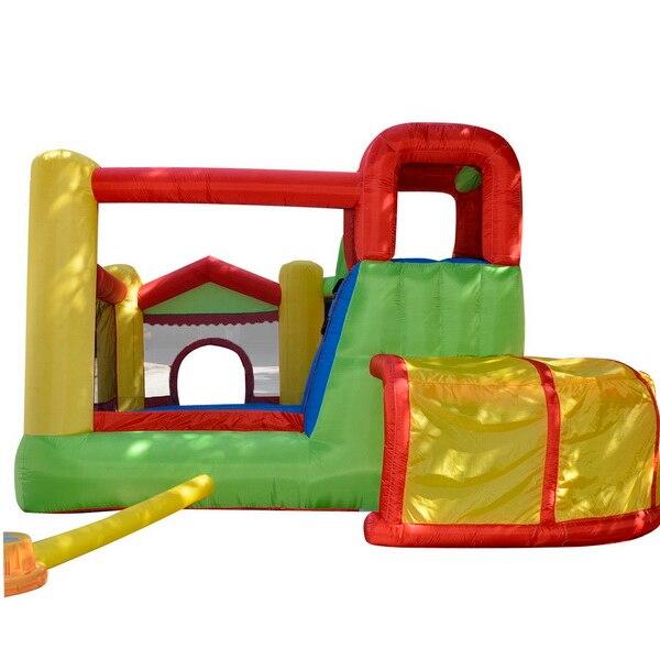 HTB1KGYZRpXXXXcsaVXXq6xXFXXXR - Arshiner Trampoline Bounce House With Inflatable Kids Slide without Blower