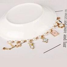 Dongsheng סיטונאי אליס הפלאות קסם צמידי צמידי אגדה סיפור ארנב כובע מפתח שעון צמיד צמיד מתנה 25